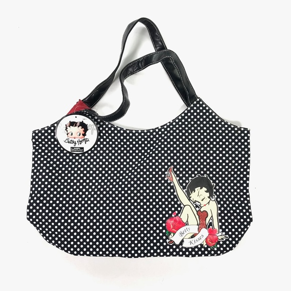 BETTY BOOP RED DRESS HEARTS BACKPACK RUCKSACK SCHOOL BAG NEW WITH TAGS
